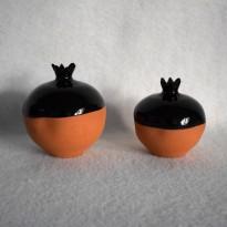 Δες το προϊόν: Ρόδι δίχρωμο μαύρο - Cuoreland.gr