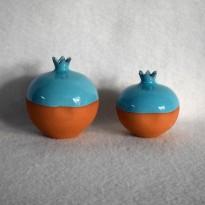 Δες το προϊόν: Ρόδι δίχρωμο γαλάζιο - Cuoreland.gr